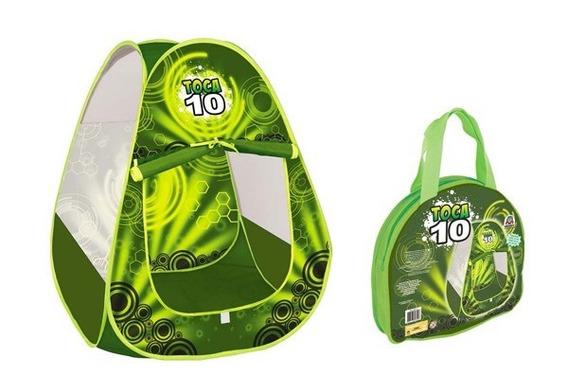 Toca Barraca 10 Infantil C/sacola Braskit + 100 Bolinhas