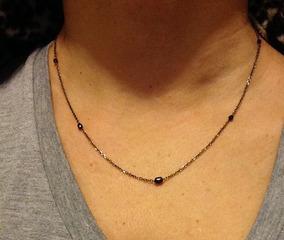 Colar Diamantes Negros, Ouro Negro, Medalhão Persa, Original