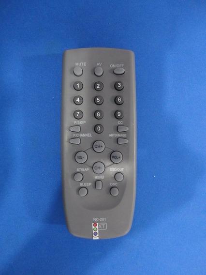 2 Controles Remotos Tv Tubo Cce 14 20 21 29 34 Polegadas