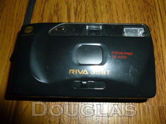 Câmera Fotográfica Minolta Riva 35st Made In Japan