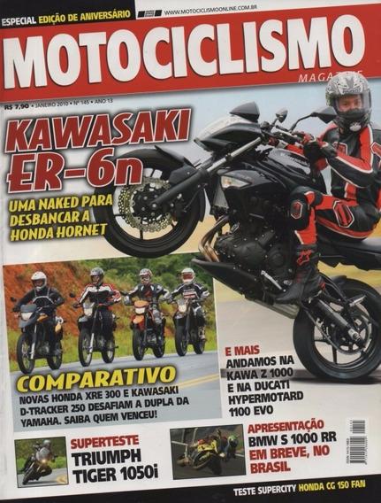 Motociclismo N°145 Kawasaki Er-6n Z1000 Tiger 1050i Cg150fan