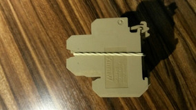 Borne Sak Duplo 4mm,bege,mod Mdb4-4/2,metaltex(lote 51 Pçs)