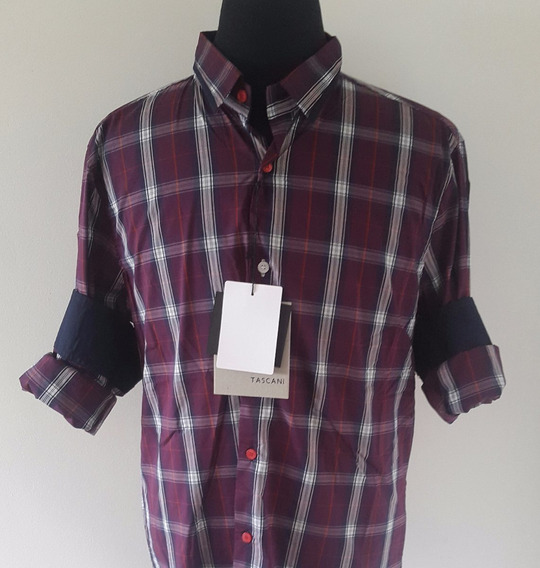 Camisa Slim Fit Entallada Tascani Liquidación!!!!