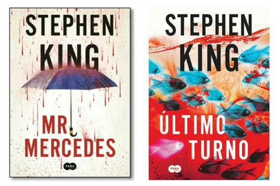 Último Turno Livro Stephen King + Mr. Mercedes Stephen King
