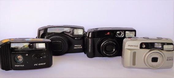 Lote De Câmeras Pentax (para Decoração)