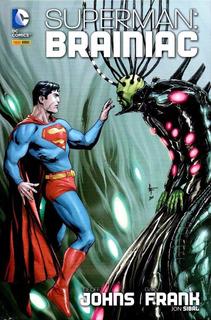 Superman Brainiac Panini Hq Capa Dura Lacrado Frete 12,00
