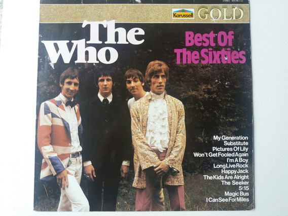 The Who Lp / Raríssimo / Best Of The Sixties Made Germany
