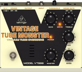 Pedal Behringer - Vintage Tube Monster - Vt 999