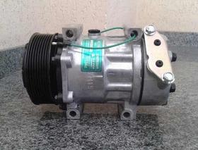 Compressor Ar Condicionado Caminhao Scania 7h15 8pk Novo