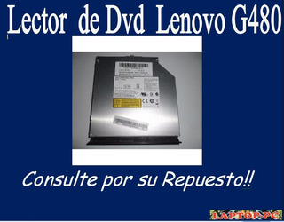 Lector De Dvd Lenovo G480