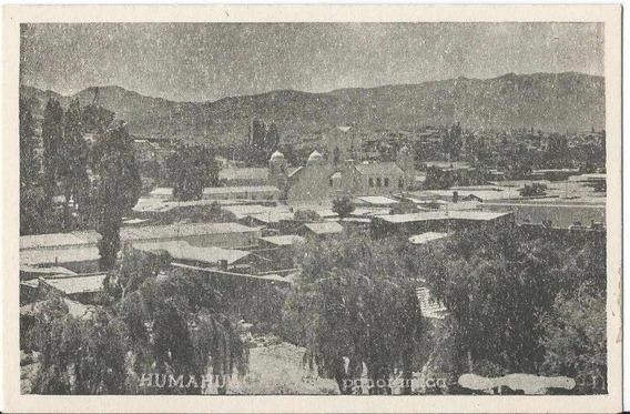 W931// Vista Panorámica De Humahuaca.
