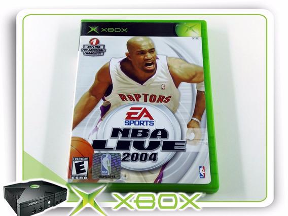 Xbox Nba Live 2004 Original Xbox Clássico Ntsc