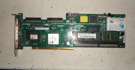 Placa Controladora Adaptec Scsi 3225s 128mb Bateria