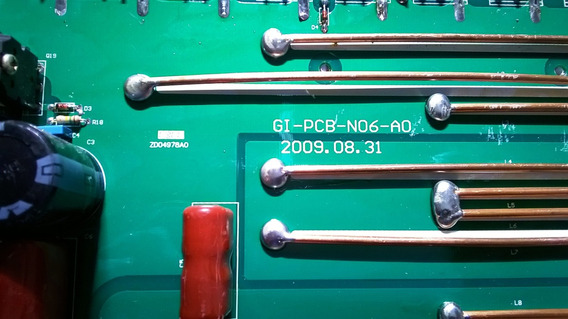 Placa Eletronica Inversora De Solda De Potencia.pcb-n06-a0
