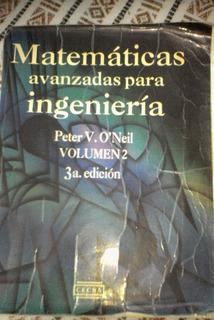 Matematicas Avanzadas Para Ingenieria