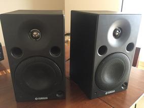 Par De Caixas De Som Yamaha Som Profissional Amplificadas