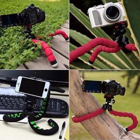 Mini Tripe Flexível Profissional Para Celulares E Câmeras