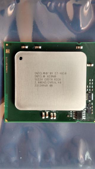 Intel Xeon E7-4850 24m 6.40 Gt/s 2.00 Ghz Ddr3 Lga1567 Slc3v