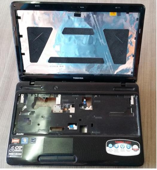 Carcaça Completa Toshiba Satellite L655d-s5050 Modelo:psk2lu