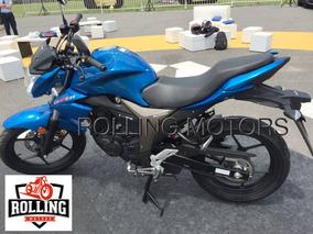 Suzuki Gixxer 150 0km Azul 2017 Tipo Yamaha Fz16