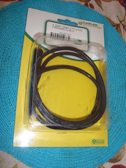 2 Cables Firewire Ieee 1394a, De 4 Pines A 4 Pines.