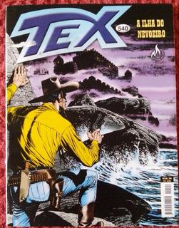 Revista Tex Coleção Nº 540 - A Ilha Do Nevoeiro. 116 Páginas