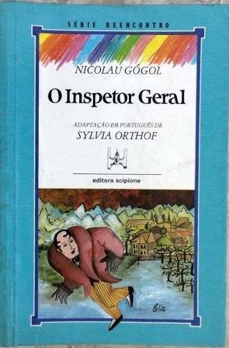 Livro- O Inspetor Geral - Nicolau Gógol-+brinde