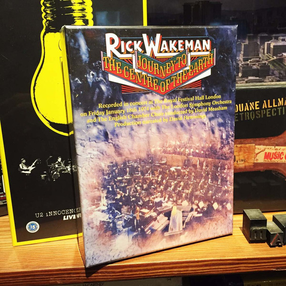 Rick Wakeman Journey To The Centre Of The Earth Box