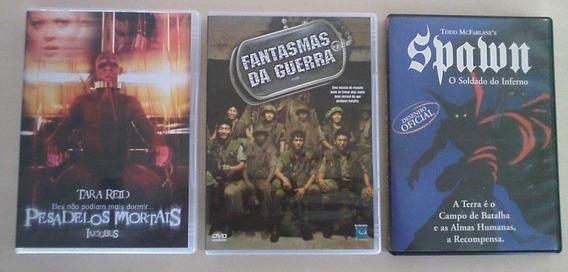 3 Filmes De Terror (em Dvd)