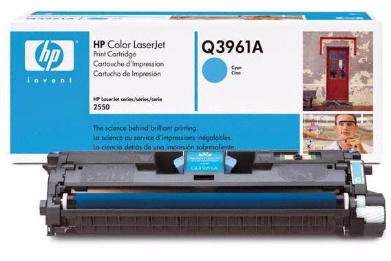 Cartucho Toner Para Hp 2550 2820 2840 Laserjet Azul Q3961a
