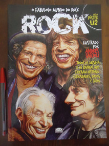 O Fabuloso Mundo Do Rock - Andrés Cascioli - Poster U2