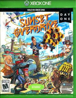 Sunset Overdrive Xbox One Usado En Excelente Estado - Insomn