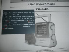 Escala Do Radio Toshiba Tr446