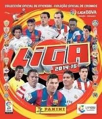 Campeonato Espanhol 2015 Album Completo Figurinhas Soltas