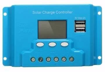 Imagen 1 de 6 de Controlador De Carga Solar 30a Para Sistema Fotovoltaico Usb