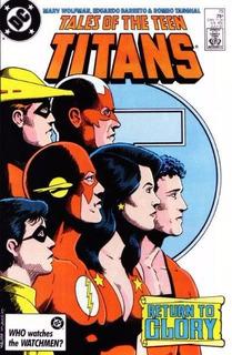 Tales Of The Teen Titans, Vol 1 #79 (1987), Dc Usa, Inglés