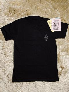 Camisa Masculina Personalizada Cacto - Preta   Frete Grátis