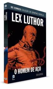 Lex Luthor - Homem De Aço - Dc Eaglemoss Lacrado!!!