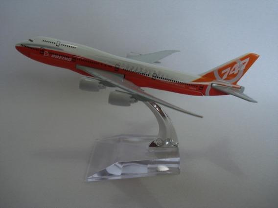 Boeing 747-8 Avião Miniatura