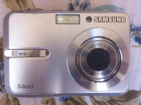 Câmera Fotográfica Samsung 8.1 Megapixels