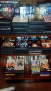 Colección De Videos Dvd Y Vhs Mas Casseteras Mueble Y Tv
