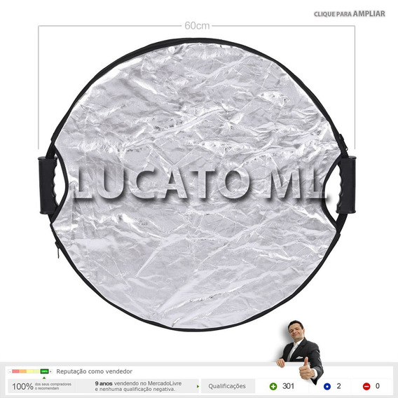 Rebatedor / Difusor 60cm Circular 5x1 +bolsa +fretegrátis Ap