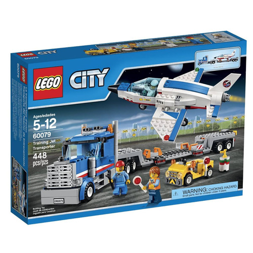 Lego city транспортер 60079 аткарский элеватор