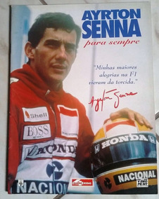 Revista Ayrton Senna Para Sempre - Rara