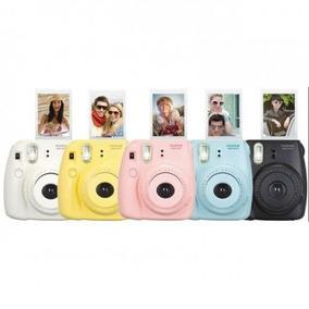 Câmera Fujifilm Instax Mini 8 Completa Cor Rosa Frete Gratis