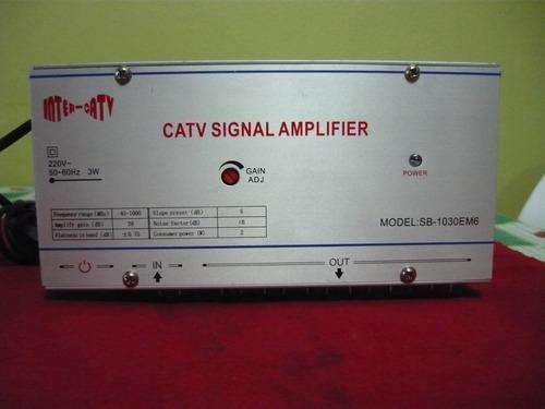 Amplificador De Señal Catv -  Con 6 Salidas