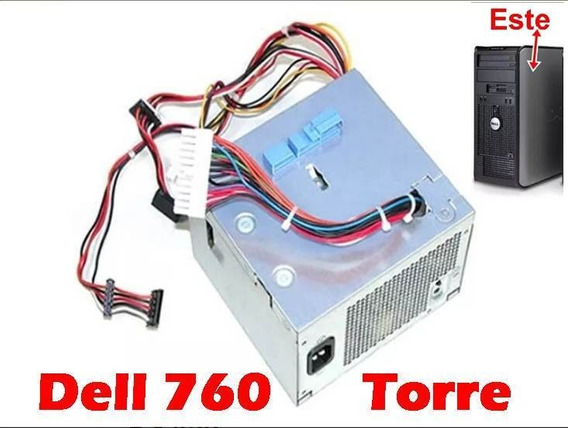 Fonte P/ Dell Optiplex 760 Torre H255e-00 Original