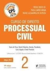 Curso De Direito Processual Civil Novo Cpc Volume 2 2015