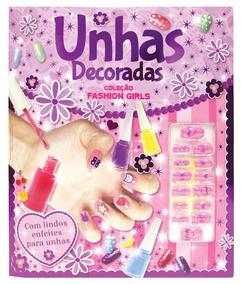 Coleção Fashion Girls - Unhas Decoradas - Bicho