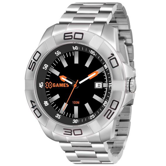 Relógio X-games Masculino Xmss1037 P1sx Re. Autorizada - Nfe